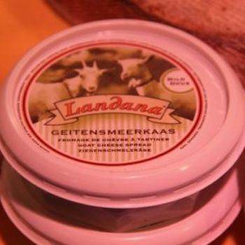 Boerensmeerkaas geit 150gr (potje)
