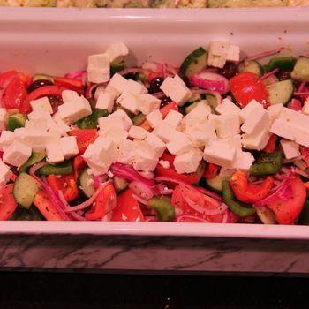 Griekse salade (zomer)