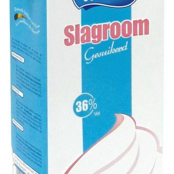Slagroom 1L inex