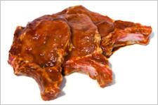 gemarineerde varkenskotelet (200g)