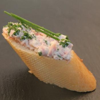 Ham-bieslooksalade (100g)