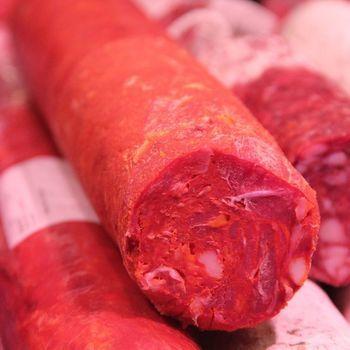 Chorizo (per 100 gr)